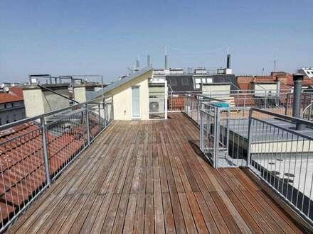 Unbefristete Dachgeschosswohnung mit luxuriöser Terrasse