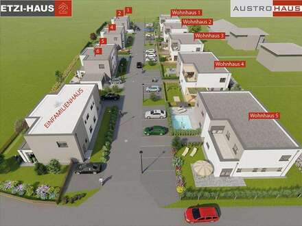 Desselbrunn: Moderne Doppelhäuser inkl. Grund ab € 288.900,-