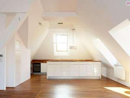 Wunderschöne Architekten-Maisonette mit großzügiger Dachterrasse mitten in Grinzing