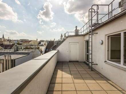 ++NEU** großzügiger 4-Zimmer DG-Erstbezug mit toller Terrasse, BESTLAGE in 1080!