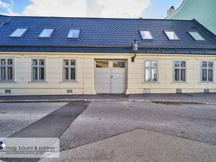Wohnen in der Erweiterung eines Winzerhauses im Zentrum von Baden