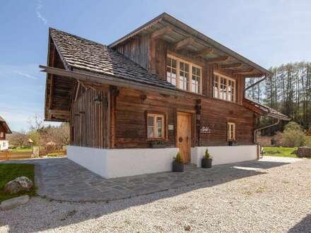 AlpiNest Resort - Einzigartiges Altholz-Chalet im Biosphärenpark LUNGAU