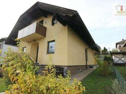 TOP gepflegtes 130m² Einfamilienwohnhaus mit Garage in Völkendorf / Warmbad