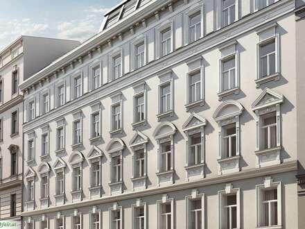 ALTBAU-JUWEL 3 Zimmer Stilaltbauwohnung mit ca. 11 m ² Süd-West Balkon ( Top 12A € 465.000,-)