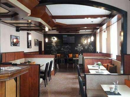 Tolles, neu gestaltetes Gastro-Lokal mit Schanigarten!