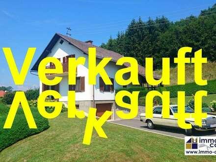 Wunderschönes, gepflegtes Einfamilienhaus mit traumhaften Garten in Jennersdorf, ca. 150m² Wfl., ca. 4300m² Grund – 189.000…