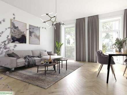 ALTBAU-JUWEL! Südseitige 3 Zimmer Stilaltbauwohnung im ruhigen Innenhof ( Top 8: ca 60m², 1. OG. € 395.000,-)
