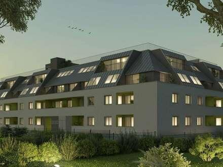 !Provisionsfreier Neubau mit Gärten, Terrassen, Loggien oder Balkone! MODERNES WOHNEN NAHE DER DONAUINSEL! RUHEOASE & RÜCKZUGSORT!…
