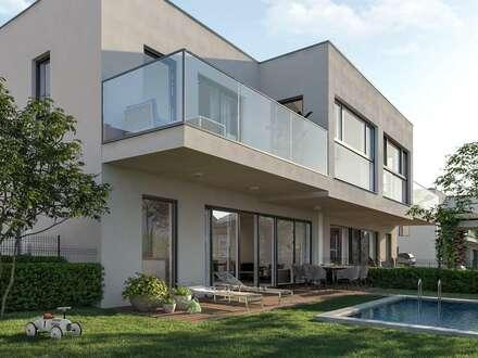 NATUR PUR- Designerhaus, direkt am Waldrandmit zwei Stellplätzen, TerrassenundGarten! Ruhelage.! Nähe Knoten S1/A5 und…