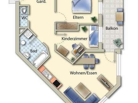 Anlage oder Eigennutzung - 2,5 Zimmerwohnung in Stadtnähe
