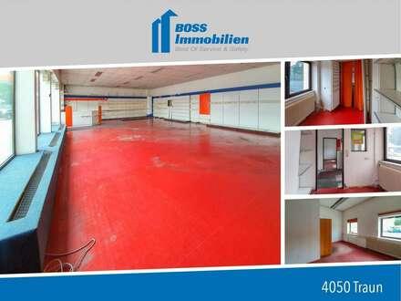 zentrales Lager mit 278 m²!