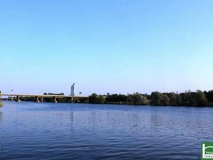 RUHEOASE & RÜCKZUGSORT! Neue Donau! MODERNES WOHNEN NAHE DER DONAUINSEL! Provisionsfrei! Neubau mit Gärten, Terrassen, Loggien oder Balkone! Hochwertige Ausstattung!