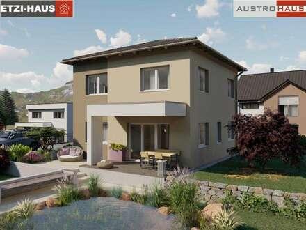 Ziegelhaus 126 m² inkl.676 m² Grund in Pucking ab € 389.760
