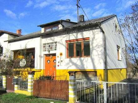 Einfamilienhaus in ruhiger Ortsrandlage.