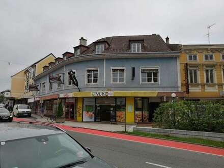Werbefläche am Hauptplatz in Amstetten