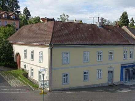 Zentral gelegenes Haus am Marktplatz im Kurort Bad Großpertholz