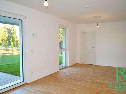 Attraktive Räumlichkeiten für Praxis oder Büro - 3-Zimmer-Gartenwohnung mit Garagenplatz – Erstbezug