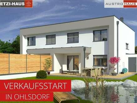 Doppelhaushälfte aus Ziegel+Grund in Ohlsdorf ab € 336.734,-