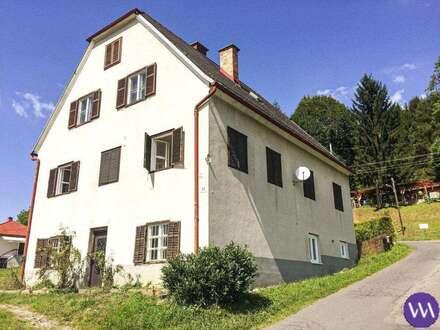 Wohnhaus mit 2 Wohneinheiten in sonniger Lage Nähe Bad Gleichenberg ...!