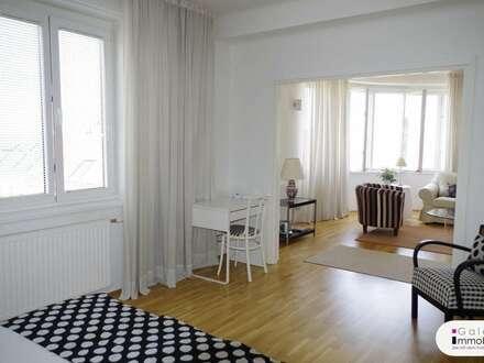 Möbliert und Weitblick - 2-Zimmer-Wohnung - barrierefrei