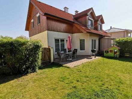 Wunderschöne Doppelhaushälfte mit Garten und Terrasse in Deutsch-Wagram