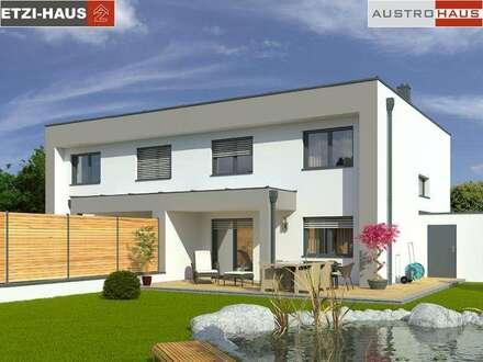 Doppelhaushälfte aus Ziegel+Grund in Ohlsdorf ab € 339.284,-