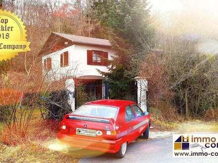 Ehemaliges Jagdhaus ca. 120m² Wfl., 5 Zimmer, ca. 5903m² Gfl. - 220.000 Euro VB In idyllischer Einzellage, nur wenige Fahrminuten,…