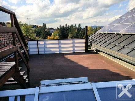 Zur Miete: 4-Zimmer-DG-Wohnung in Henndorf