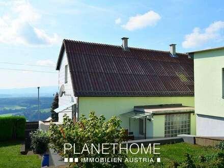 Grandiose Aussichtslage! Wohnhaus mit ausbaubarem Nebengebäude