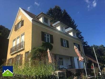 Historische Villa in wundervollem Garten mit Biotop und eigener Quelle!