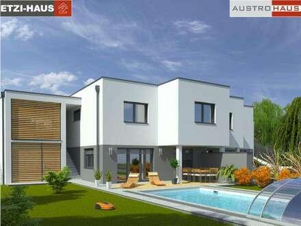 Nur mehr 1 Doppelhaushälften inkl. Grund in Kirchdorf!
