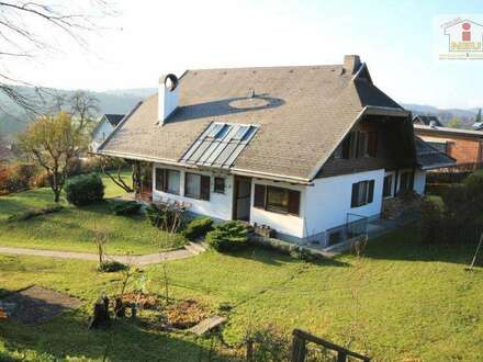 Tolles schönes 250m² Wohnhaus mit 2.271m² Grund in Maria Rain in traumhafter Aussichtslage!