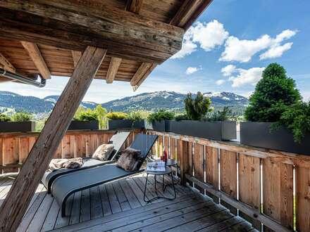 Sonnenverwöhntes Penthouse in Bestlage von Ellmau