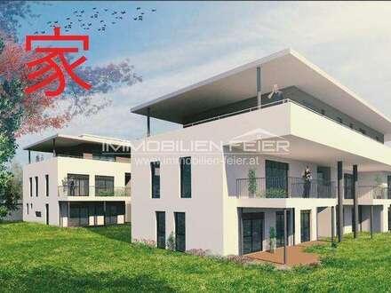 Bestlage nähe Therme! Echte Penthousewohnung mit ca. 105m² Terrassenfläche!