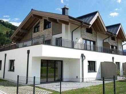 Zell am See-Schüttdorf: Neubau! 3-Zimmer-Wohnung mit Garten und Terrasse