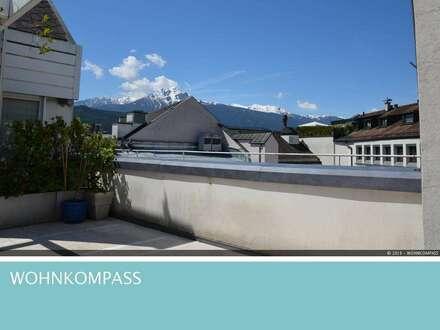 Innsbruck – Altstadt: Dachgeschosswohnung mit großer Sonnenterrasse!
