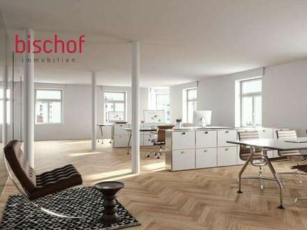 Sanierte Büroetage in Dornbirn Zentrum zu vermieten, 1. OG