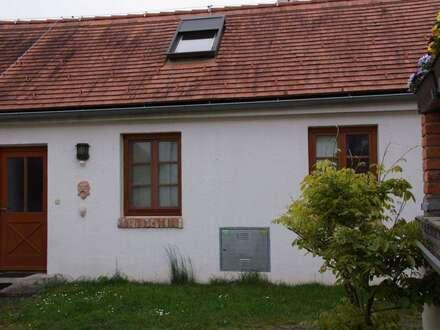 Ruhige Kleinwohnung mit Haus-Charakter