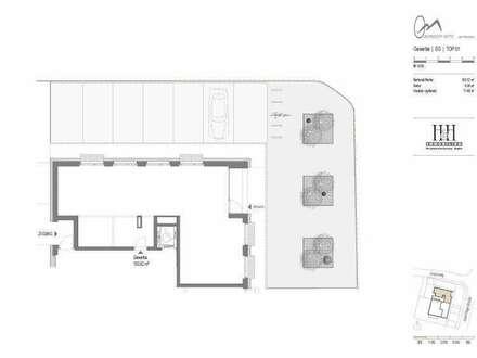 TOP 1: Geschäftsfläche im EG mit ca. 104 m2 - WWW.OBERNDORFMITTE.AT