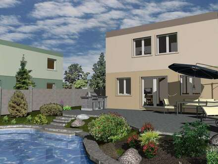 Aktionswochen bei Favorit Haus Bad Vöslau, Baumeisterhäuser in Ziegelmassivbauweise, noch 2 Bauplätze verfügbar