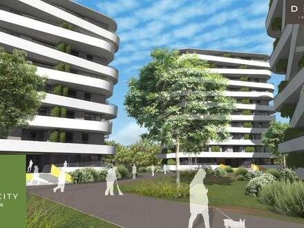 NEUBAUWOHNUNG MIT BALKON UND 2 ZIMMERN - GREEN CITY LIVING - PROVISIONSFREI!