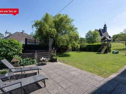 Großzügige Familienwohnung mit Garten und Atterseeblick