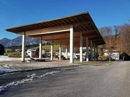 Großer überdachter Lagerplatz nahe Kufstein
