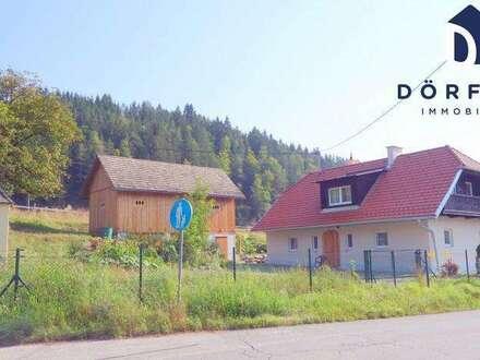 Anwesen mit liebevoll renoviertem Wohnhaus und Wirtschaftsgebäude