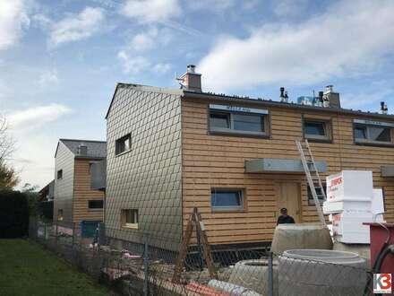 DIE LETZTE CHANCE! Reihenhaushälfte zur Miete - gesundes Wohnen mit Holz