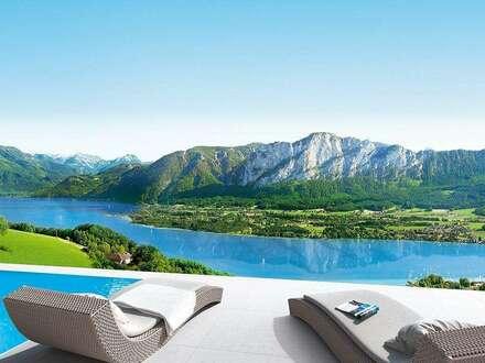 Die East Grand Garden Lounge bietet luxuriöses und repräsentatives Wohnambiente auf zwei Eben.