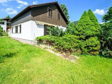 Gemütliches Einfamilienhaus in herrlicher, sonniger Ruhelage in Puchberg am Schneeberg