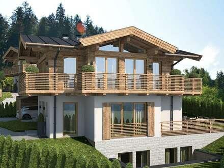 Neubauprojekt – Trendige Doppelchalets in beschaulicher Waldrandlage von Reith