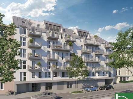 Balkon in Hofruhelage! Erstbezug! U4! Matznerpark! PROVISIONSFREI! Top-Infrastruktur!