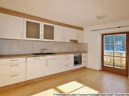 Miete: Großzügige Wohnung in Fieberbrunn